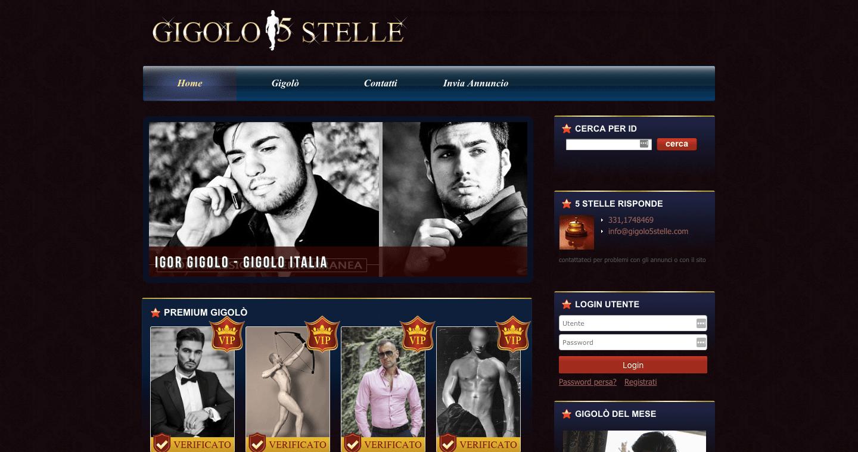 gigolo5stelle.com siti per accompagnatori
